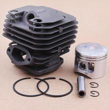 45,2 мм поршневое кольцо в сборе подходит для китайской бензопилы 5800 58CC 5900 59CC бензопилы цилиндра Поршневой комплект двигателя