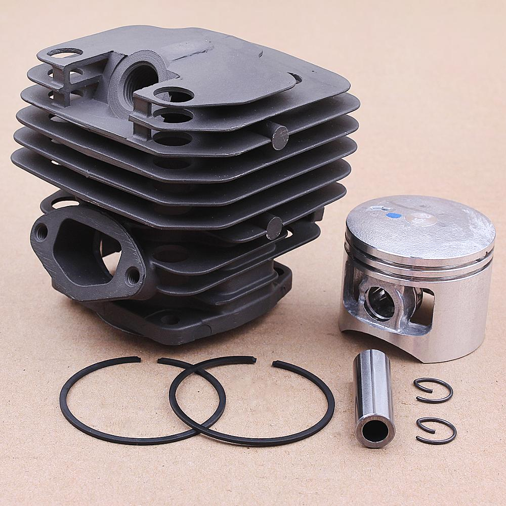 45.2mm Cylinder Piston Ring Assembly Fits Chinese Chainsaw 5800 58CC 5900 59CC Gasoline Chainsaw Cylinder Piston Kit Engine