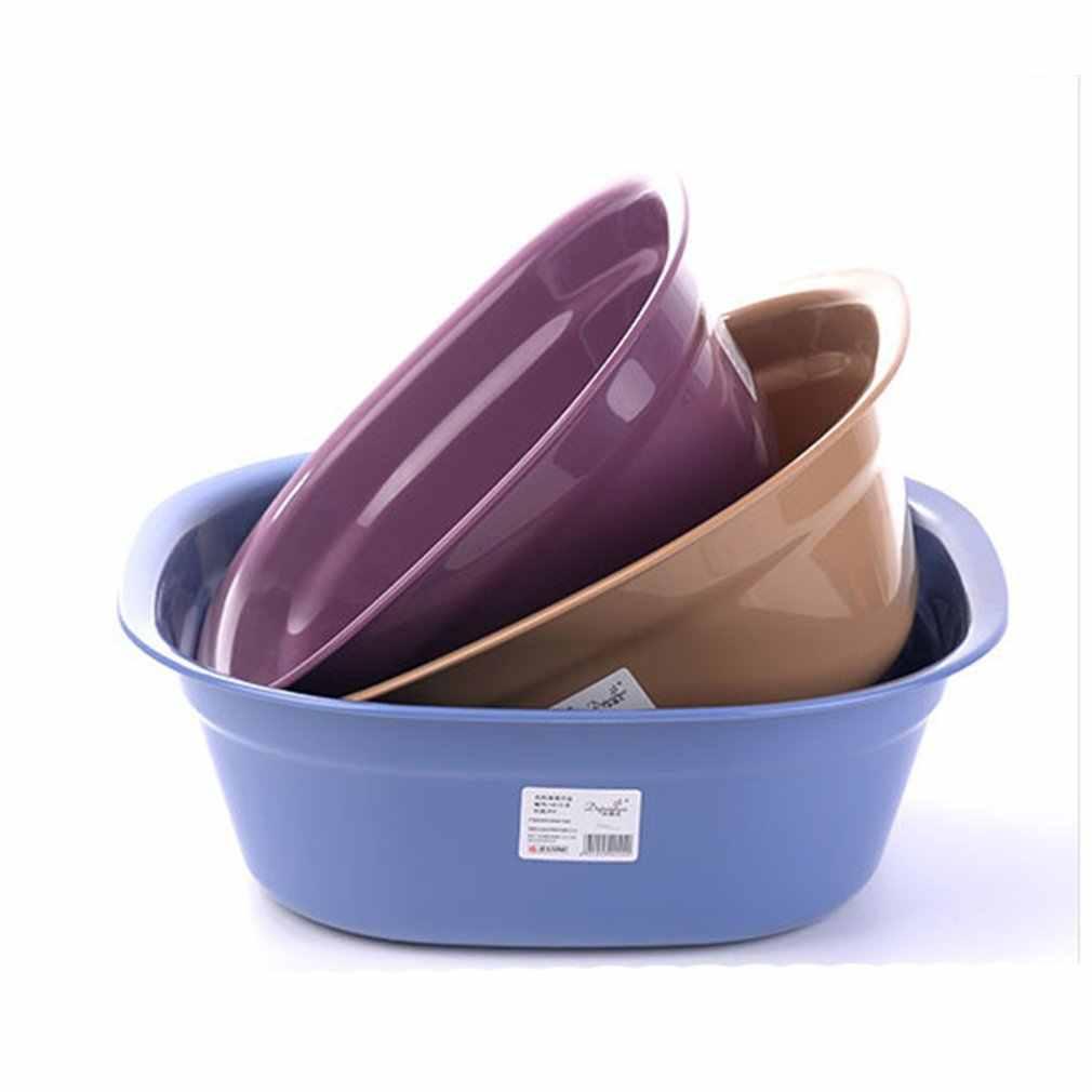 ポータブル子供洗面お尻洗濯流域プラスチック証拠を粉砕浴槽顔足洗面