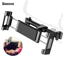 Baseus Back seat Mount Tablet Car Holder For iPad Air Mini Pro 2018 Backseat Car Phone Holder Stand For iPhone Xs Max X Samsung(China)
