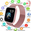 2019 女性防水スマート腕時計 P70 P68 プラス Bluetooth スマートウォッチ Apple の Iphone Xiaomi ハートパルスレートモニターフィットネストラッカー
