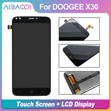AiBaoQi New Original 5.5 inch Touch Screen + 1280X720 LCD Display Assembly Replacement For Doogee X30 model Phone(China)