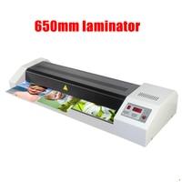 A1 Photo Laminator Hot Cold Laminator Genuine HD 650 laminating machine Maximum plastic size is 650mm Fast Speed Film Laminating