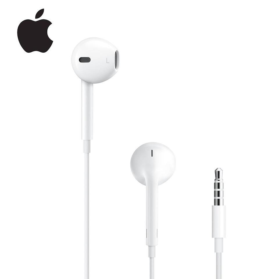 Apple Earpods orijinal kulaklık 3.5mm fiş ve yıldırım kulak spor kulakiçi derin zengin bas kulaklık iPhone için/iPad Android