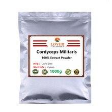 % 100% organik Cordyceps Militaris mantar özü 30:1 Cordycepin tozu, USDA ve EC sertifikalı