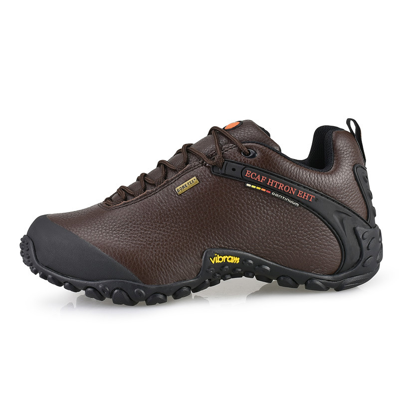 Outdoor Camping Waterproof Hiking Shoes Men Leather Sports Shoe Travel Leisure Walking Men Shoes Hiking Boots Magnum Shoes