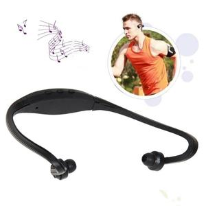 Image 2 - Fashionable Sports Headphone Headset Suppliers  MP3 Music Player Micro SD TF Bass Earphone for Runners Joggers Walkers