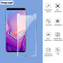 Tempered glass for Samsung Galaxy S9 S10 screen protector 2019 ultra-thin 2.5D HD for Samsung Galaxy note 8 9 screen protector protective tempered glass screen protector for samsung galaxy note 2 n7100 transparent