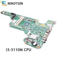 NOKOTION 710873 501 710873 001 laptop motherboard For HP Pavilion G6 G6 2000 i3 3110M DDR3 DAR33HMB6A0 Main board WORKS