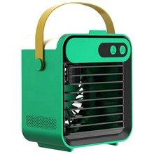 Portable Air Cooler Quiet Mini Desktop Air Conditioner Ice Air Cooler Fan For Home Office Room Cooler