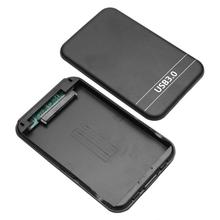 2.5 inch HDD SSD Case SATA 2 to USB 3.0 Enclosure Case 6Gbps External SSD Hard Disk Drive Box Support 8TB Hard Drive