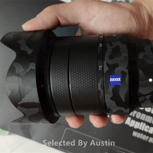 Image 3 - Premium lentille peau garde ombre noir pour Sony Prime lentille décalcomanie protecteur anti rayures Film autocollant couverture
