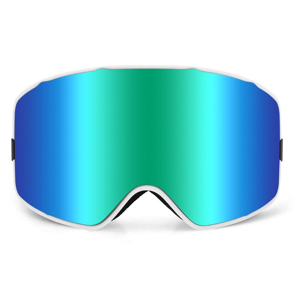 UV400 lunettes de Ski OTG lunettes de sport de neige Anti-buée Snowboard escalade lunettes hommes femmes lunettes de Ski