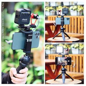 Image 5 - Ulanzi Vlog Living Stream Kit Youtube Kit Mini Tripod Phone Mount Record Microphone Kit Extend Tripod Vertical Shooting