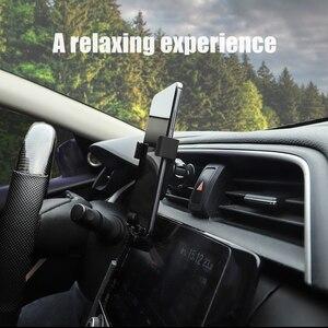 Image 5 - 1Pcs Universal Car Phone Holder In Car Air Vent Mount Stand For Toyota Prado Auris Avensis Corolla Verso Sienna Yaris Avalon Cam