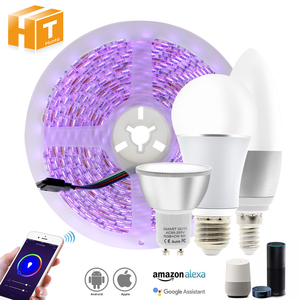 Image 1 - Tuya Smart Control WiFi RGB LED Strip Light Smart Life APP Compatible with Amazon Alexa and Google Home Control by Voice.