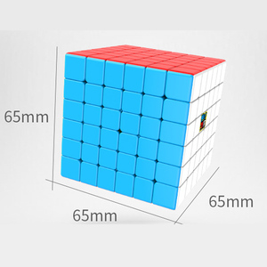 Image 3 - MOYU MeiLong Neo Antistress 65mm Speed Cube 6x6x6 Cubo Magico Profession Puzzle Magic Cubes Childrens Of Education Toys Gift