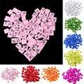 100 Teile/los Diy Handwerk Kinder Puzzles Spielzeug Pädagogisches Holz Alphabet Spielzeug Scrabble Buchstaben Buchstaben Anzahl Handwerk Wohnkultur