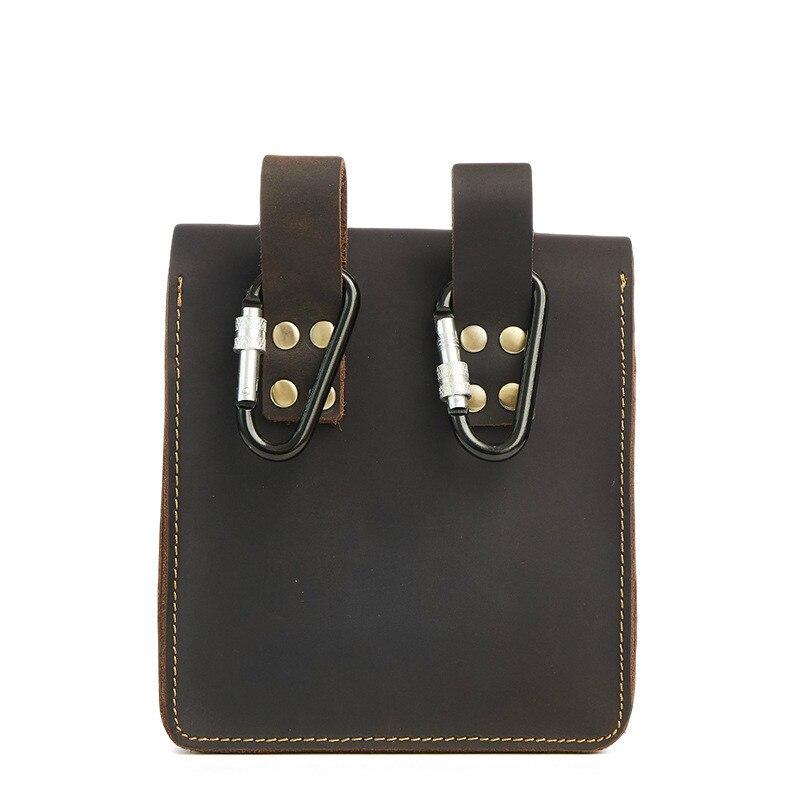 Мужская поясная сумка, чтобы купить мужская нагрудная сумка для мужчин, поясная сумка 859 кожаная мужская сумка Banane Marsupio Uomo Gamba Nerka - 5