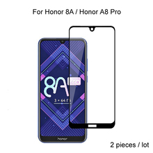 2pcs Full Cover Tempered Glass For Huawei Honor 8A Pro / Honor 8A Protective Glass Screen Protector For Huawei Honor 8A Pro 2pcs full cover tempered glass for huawei honor 8a pro honor 8a protective glass screen protector for huawei honor 8a pro