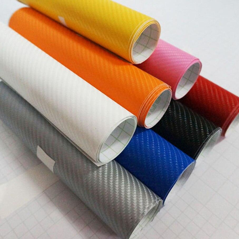 Автомобильная виниловая плёнка из углеродного волокна, 100 х1520 мм