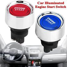 12v LED Light Motor Car Keyless Engine Starter Ignition Button Key Push Start Button Switch Replacement Engine Start Universal все цены