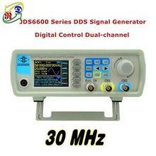 """2,"""" TFT lcd JDS6600 30 МГц 2CH произвольный генератор сигналов-волн импульсный сигнал"""