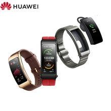 99% nova huawei talkband b6 banda b6 b5 bluetooth pulseira inteligente wearable esportes pulseiras toque amoled tela chamada fone de ouvido banda