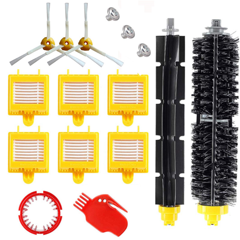 for IRobot Roomba 700 Series Replacement kit 760 770 772 774 775 776 780 782 785 786 790 Accessories Brush roll filters brush|Vacuum Cleaner Parts|   - AliExpress