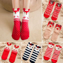 Cartoon Christmas Socks Ornaments Merry Christmas Decorations For Home Christmas Gifts Xmas Noel Navidad Happy New Year Supplies