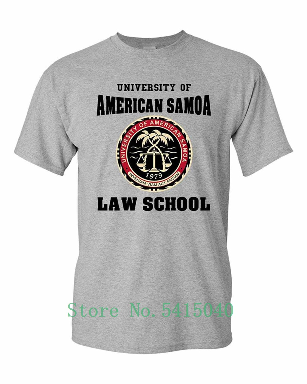 Fashion 2019 Newest Stranger Things T Shirt Men University Of American Samoa Law School Dt Adult T-Shirt Tee image