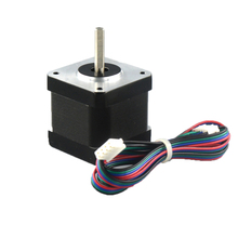 Stepper Motor Nema17 42mm Dual-Shaft 42BYGH40 for CNC Engraving-Machine 1PC