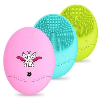 Versión actualizada de Xiaofeixiang instrumento de limpieza de silicona instrumento de lavado eléctrico cepillo de limpieza eléctrico de la cara del hogar