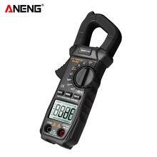 ANENG ST209 LCD dijital multimetre 6000 sayımları kelepçe MeterTrue RMS Amp DC/AC akım kelepçesi Tester ölçer voltmetre otomatik değişen