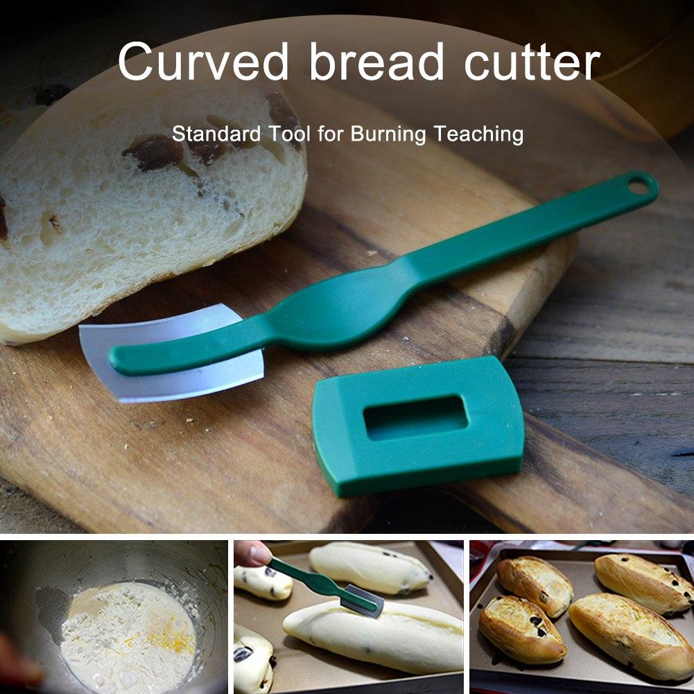 Кухонные принадлежности Инструменты дуговой нож для нарезки хлеба изогнутый с тонким лезвием из углеродистой стали и рукояткой из АБС-плас...