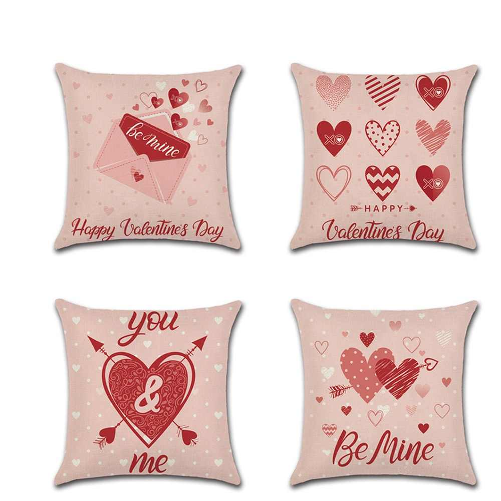 Federe Cuscini Amore.Modello Di Amore Fodere Per Cuscini San Valentino Decorazione