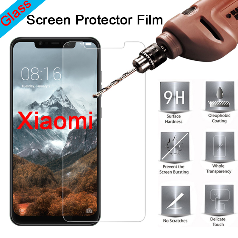 Tempered Glass For Xiaomi Mi 9T Pro 8 Lite Explorer Phone Film Protective Screen Protector Glass For Xiaomi Mi 9 6 SE Front Film