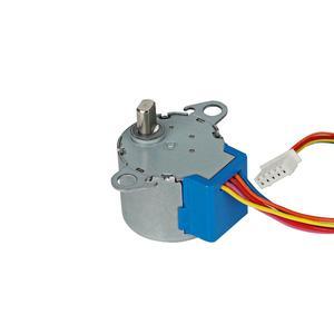 Image 3 - מיזוג אוויר אביזרי נדנדה עלה סינכרוני מנוע עבור midea MP24GA MP24GA5 מנוע צעד 5 חוט 12V DC