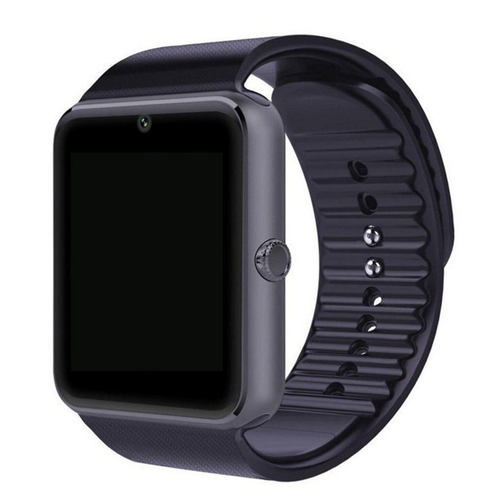 Montre intelligente hommes GT08 avec écran tactile grande batterie Support TF carte Sim caméra montre intelligente pour IOS pour téléphone Android