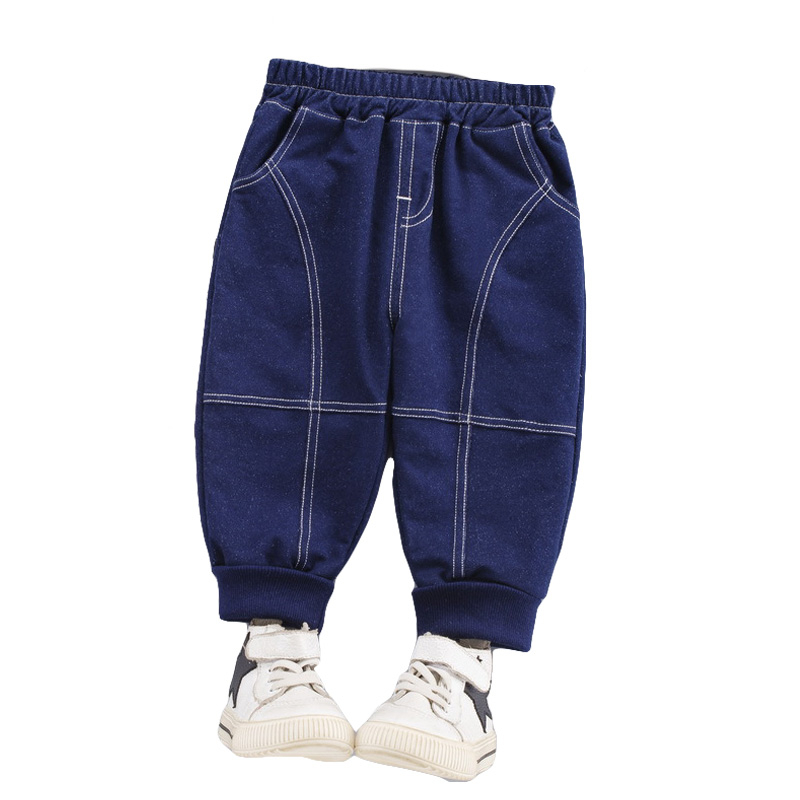 New Jeans Fashion Clothes Baby Pants Toddler Loose Feet Casual Trouser Newborn Girls Boys Long Trousers Children Jeans