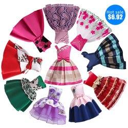2019 ragazze vestono abiti por bambine femminili Europa e América boutique abito sottoveste abito da principessa fodera em coton