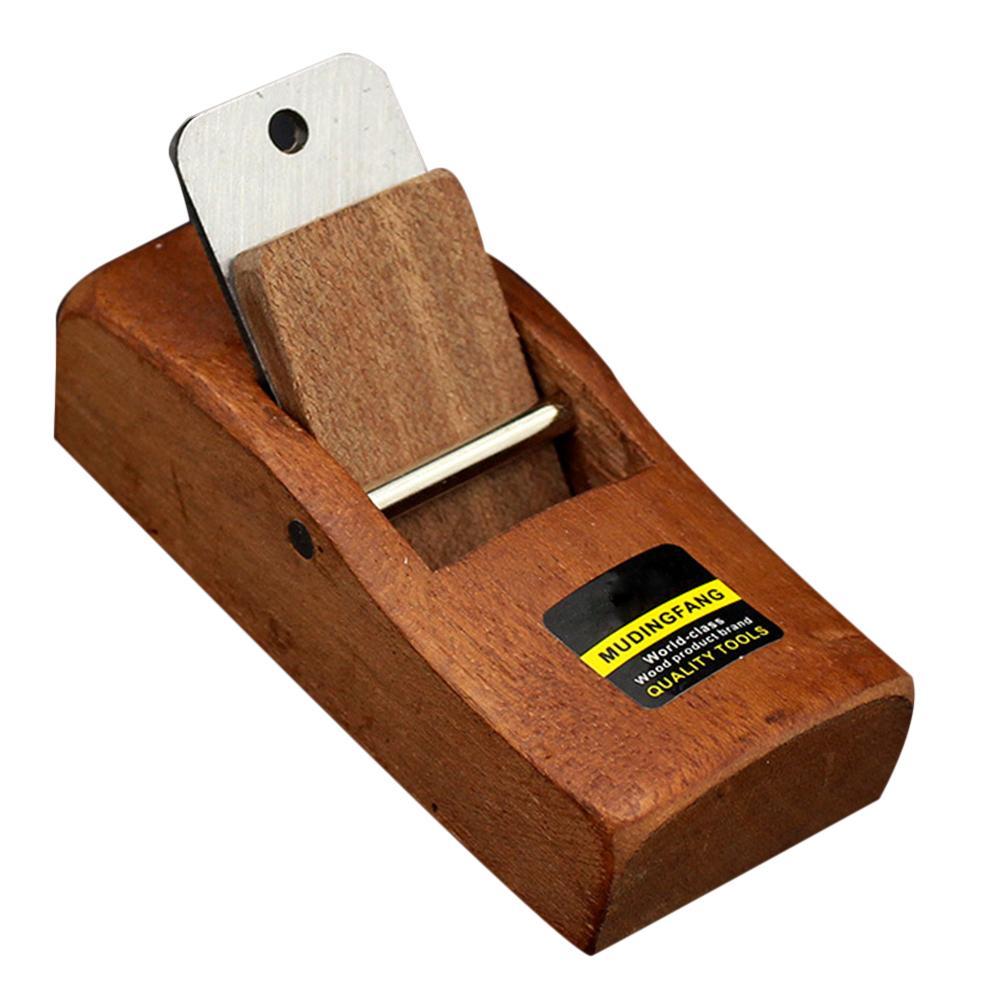 Mini cepillador de madera herramienta de cepillado de madera plano Borde inferior recorte de madera herramientas para carpintero
