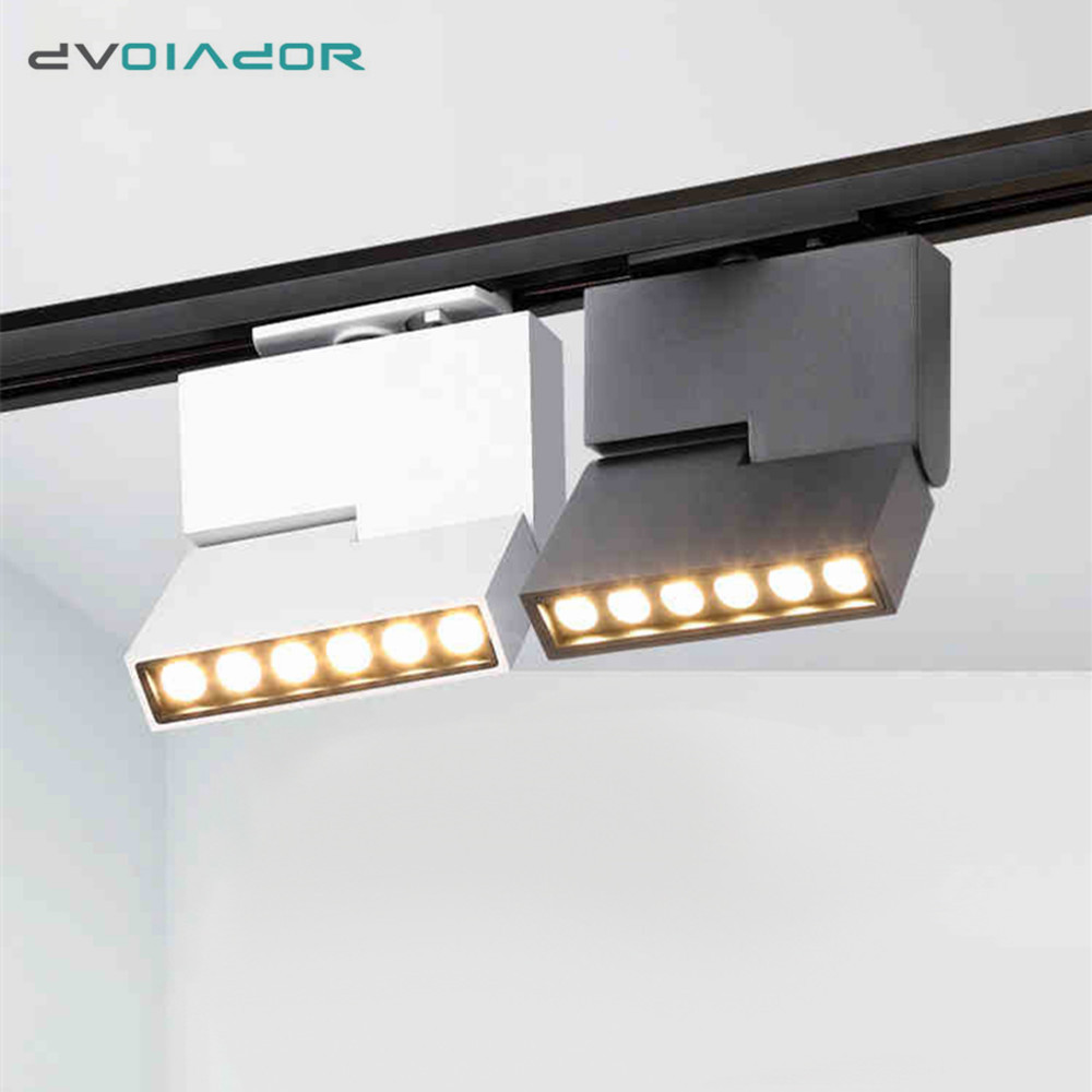 Cob 12w Led Track Light Modern Ceiling