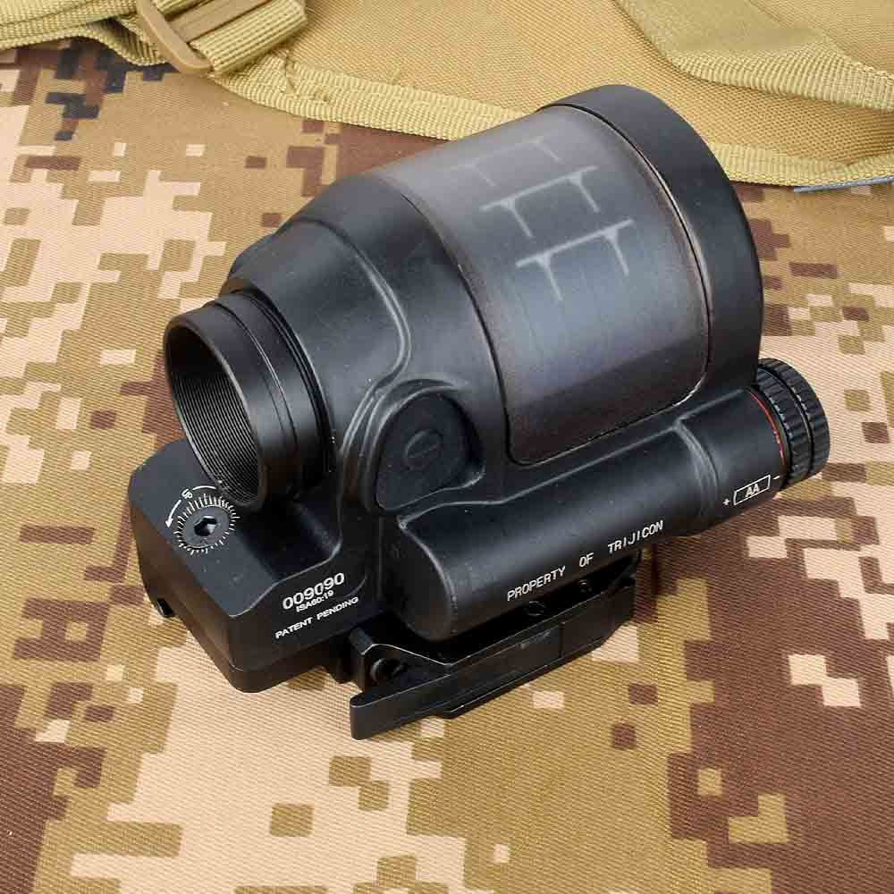 Hunting Reflex Sight Solar Power System Hunting SRS 1X38 Red Dot Sight Scope With QD Mount Optics Rifle Scope