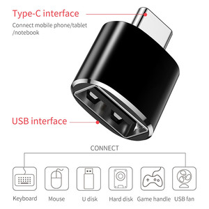 Image 2 - Type C Adapter USB C to USB 3.0 Converter Phone OTG Cable for Samsung S8 S9 Note 8 Huawei Mate 9 P20 Xiaomi Cell Phone Connector