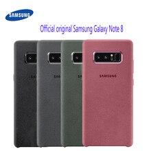 Samsung Galaxy Note 8 przypadku 100% oryginalny oficjalny prawdziwa skóra zamszowa Protector obudowie/etui do Samsung uwaga 8 przypadku Galaxy Note8 SM N950F