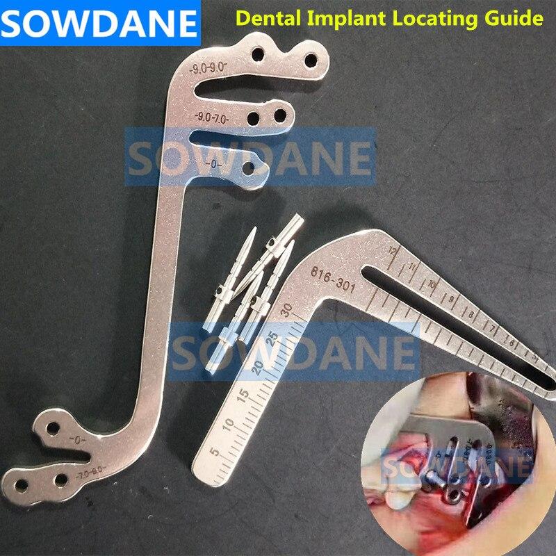 Impianto Dentale Chirurgia Strumento Orale Di Impianto Di Posizionamento Guida Impianti Dentali Impianto Di Posizionamento Angolo Di Righello Strumenti Di Dentista.