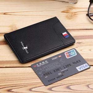 Image 5 - Mens Wallets Mens Wallets Thin Male Wallet Card Holder Cowskin Soft Mini Purses New Design Vintage Men Short Slim Wallet