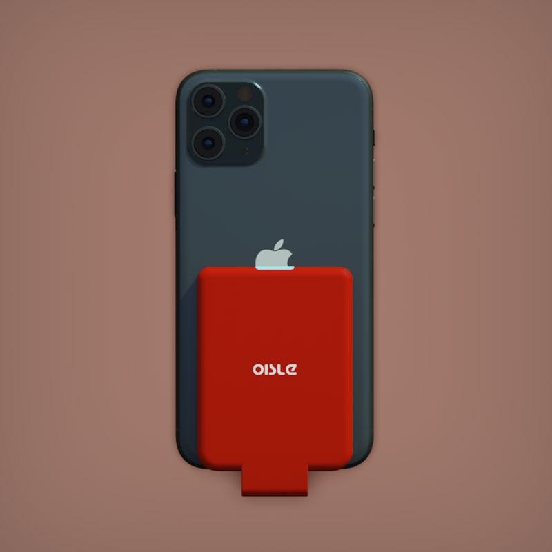 Funda cargadora de batería para iPhone 11 X XS 6 6s 7 8 Plus, funda externa de batería de respaldo para iPhone 5 y 5s SE Mini, funda fina para banco de energía