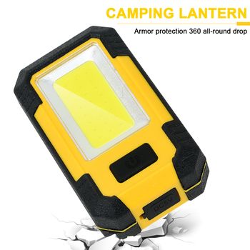 Anjoet Camping Tent Emergency Light Super Bright COB LED Rechargeable Outdoor Portable Flashlight Retro Camp Light Lantern